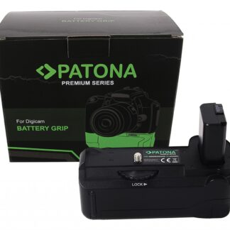 PATONA Premium Battery Grip VG-A6300 Sony A6000 A6300 A6500 for 1 x NP-FW50 Battery incl. wireless control