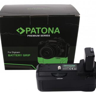 PATONA Premium Battery Grip VG-A6500 Sony A6500 for 1 x NP-FW50 Batteries incl. wireless control