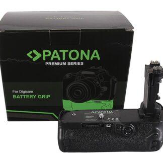 PATONA Premium Battery Grip f. Canon EOS 5D Mark IV BG-E20RC f. 2 x LP-E6N batteries incl. IR wireless control