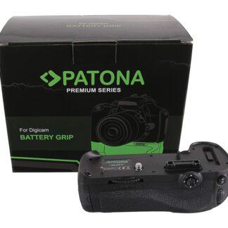 PATONA Premium Battery Grip f. Nikon D800 D800E D810 D810A MB-D12H f. 1 x EN-EL15 batterie incl. IR wireless control
