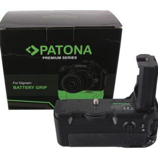 PATONA Premium Battery Grip f. Sony Alpha A7MIII A7RIII A7III A9 VG-C3EM f. 2 x NP-FZ100 batteries incl. IR wireless control