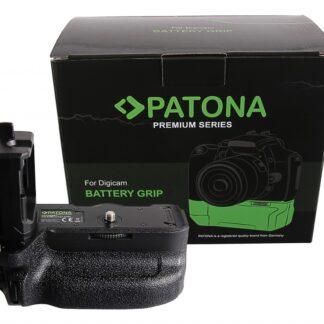PATONA Premium Handgrip VG-C4EMRC for Sony A9II A7RIV for 2 x NP-FZ100 Batteries incl. remote control