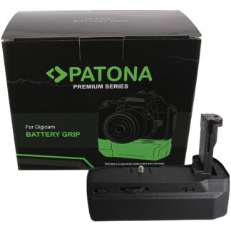 PATONA Premium Handgrip for Blackmagic 4K 6K for 3 Batteries LP-E6N incl. USB C Charger
