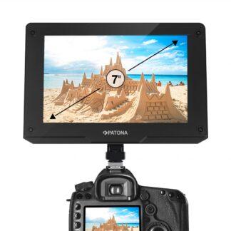 PATONA Premium LCD 3G-SDI monitor 7 inch HDMI 3D-LUT Test field peaking 1800 cd/m2