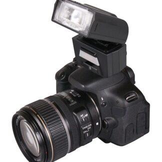 PATONA digital TTL-motorzoom Flash FK40 with integrated video light f. Nikon