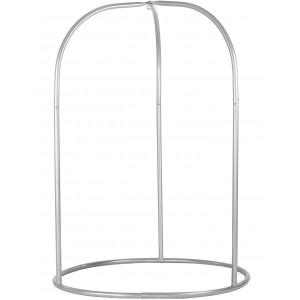Romano Silver - Pulverlakeret Stål- Stativ Til Basic- Og Lounger-hængekøjestole