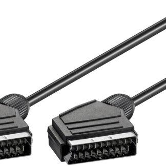 Scart kabel - Han/Han - 1.5 m