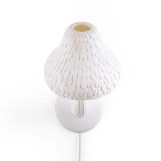Seletti Mushroom Væglampe Hvid