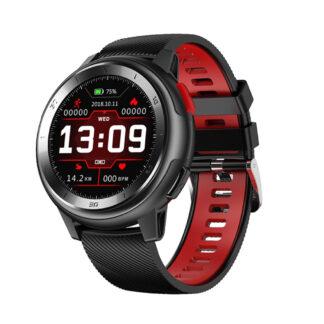 Smartwatch DT68 - Bluetooth V5.0 - Fuld Touch - Vandtæt - Puls - Blodtryk - Sportsmodes - Søvnmonitor - Sort