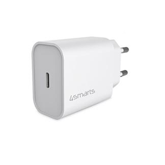 USB-C PD HURTIG oplader / adapter - 20W / 3A - Hvid