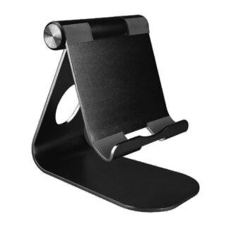 Universal aluminium desktop/holder til tablet/pc - Sort