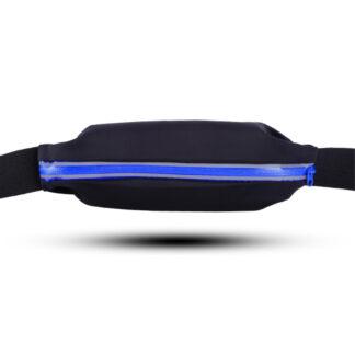 Universal sports bæltetaske til iPhones / smartphones op til 160*80 mm - vandafvisende - Mørkeblå