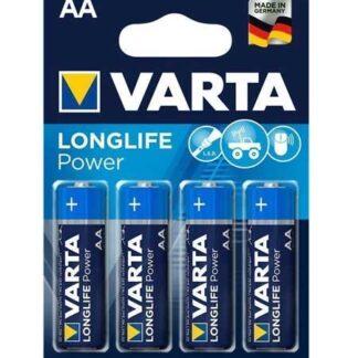 Varta Longlife Power AA Batterier - 4 stk