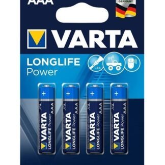 Varta Longlife Power AAA Batterier - 4 stk