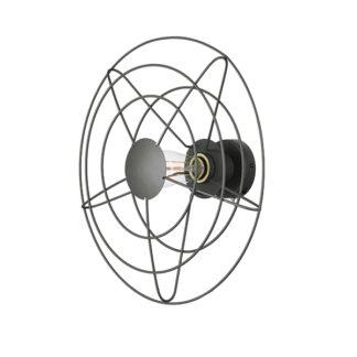 WATT A LAMP Radio Væglampe Mellem Mørkegrå