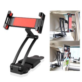 iPad / Tablet nakkestøtte holder til Bilen Justerbar 16-26 cm - 360 grader roterbar