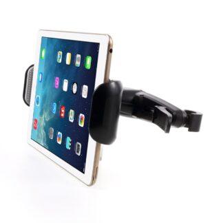 """iPad/tablet holder 7-15"""" til nakkestøtte i bil - Sort"""