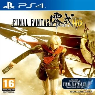 Final Fantasy Type - 0 HD (Inc. Final Fantasy XV Playable Demo) - PS4