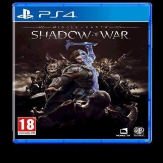 MiddleEarth Shadow of War - PS4