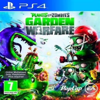 Plants Vs Zombies Garden Warfare, Ps4