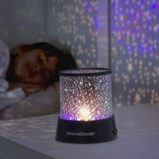 Stjerne LED lampe til børneværelset - smuk og anderledes lampe