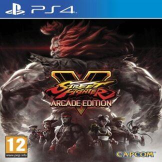 Street Fighter V 5 Arcade Edition - Ps4