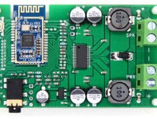 Bekent Blue forstærker board