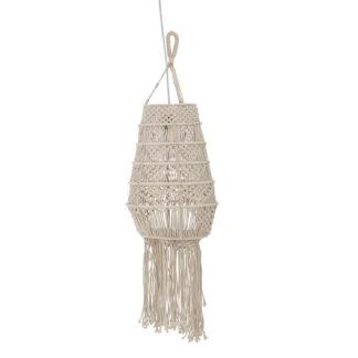 CREATIVE COLLECTION Wanda loftlampe - natur bomuld