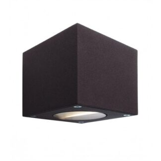 Cubodo A up-down væglampe 6W LED - Antracit