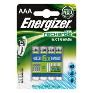 Energizer Rech Extreme AAA 800 mAh (4)