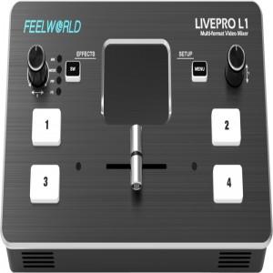 Feelworld LIVEPRO L1 MULTI-FORMAT VIDEO MIXER - Video studio