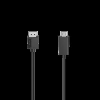 HAMA DisplayPort - HDMI kabel - 4K Ultra HD - 1.5 m
