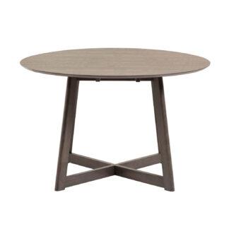 LAFORMA Maryse spisebord, m. udtræk - ask finér (70/120x120)