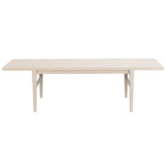 ROWICO Ness sofabord - hvidpigmenteret egetræ (160x60)