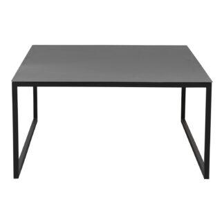 SPINDER DESIGN Mall sofabord, rektangulært - sort pulverlakeret stål (59x59)