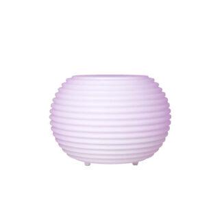 The.Pouf - Puff / Sidebord med Bluetooth Højttaler - Vandtæt - Hvid