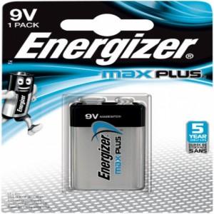 Energizer Max Plus 9V DP20 - Batteri