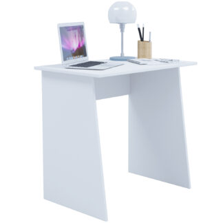Masola Mini skrivebord - hvid træ (80x50)