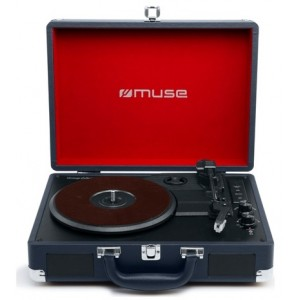 Muse Mt-103 Db Turntable Stereo System Bt Usb - Pladespiller
