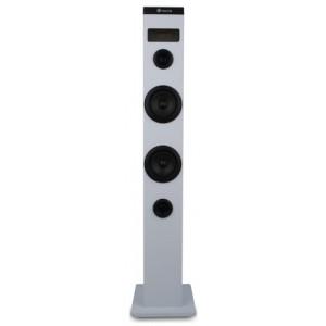 Ngs Towerspeaker Skycharm 50w Bt/usb/optical Remote White - Højttaler