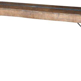 TRADEMARK LIVING konsolbord - gammelt træ m. original finish (160x40)