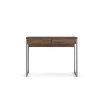 TVILUM Function Plus skrivebord - valnød, m. 2 skuffer