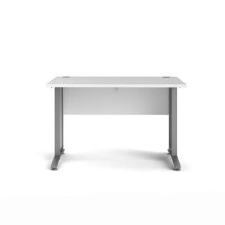 TVILUM Prima skrivebord - hvid træ, 80x120