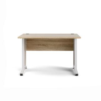 TVILUM Prima skrivebord - natur egetræ, 80x120